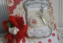 Cards with Sewing Theme / by Linda Morgan
