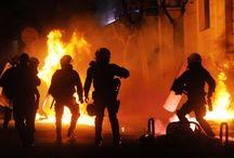 """""""Αντιεξουσιαστές"""" έκαψαν σταθμευμένα αυτοκίνητα, τα ξημερώματα στην Θεσσαλονίκη"""