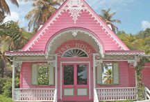 My pink dream house/items / These are my dream houses, vehicles, makeup, gadgets, house accessories, treats, clothes, beds, vanities, & furniture.