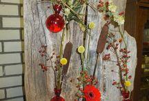 natuurlijkplanneke / creativiteit met natuurlijke bloemcreaties