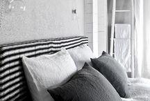 Interiores, dormitorio / Diseño de interior y mobiliario en dormitorio