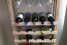 Suport pentru vinuri
