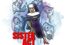 SISTER ACT (2016) / When disco diva Deloris Van Cartier witnesses a murder, she is taken into protective custody and put in the one place no one would ever think to look: a convent. But Deloris blows her cover when the nuns become the most glorious act in town! RUNNING: July 21-24 & 28-31, 2016.