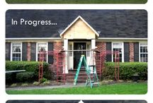 Curb Appeal / Prettying up the outside is just as important as the inside!
