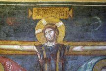 santa maria antiqua / affreschi e icone a Santa Maria Antiqua  ai fori romani (RM)