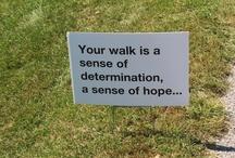 AFSP Walk Ideas / by Marie DW