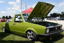 So fitting to spot a Rabbit Pickup in PA at #vagfair - photo from vw