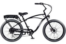 Classic Interceptor / The Pedego Interceptor is an electric bike that has it all — combining beach cruiser comfort and style with breathtaking performance and user friendly features.