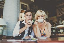 prewedding photoshoot / take picture at the coffee shop