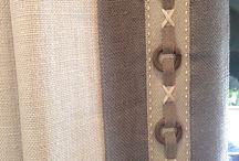 For The Home: Curtains / Curtain ideas