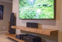 TV/THEATER Decor Ideas