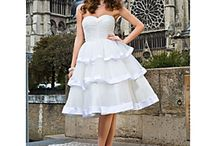 Robes de mariage courtes