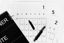 calendars / planners