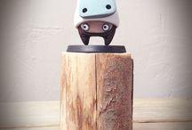 """Moon -  Mask # 8"" Figurine (2015)"