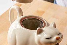 Tea pot + objets