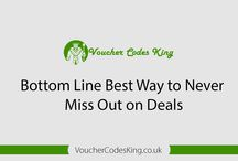 Bottom Line Best Way to Never Miss Out on Deals / http://www.VoucherCodesKing.co.uk - Learn how to never miss out on savings again by keeping a voucher calendar.  Take advantage of online shops and get up to 95% off on recommended retail price. Claim now at http://www.VoucherCodesKing.co.uk