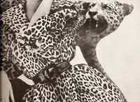 Fashion Blog / The 1950s were experimental years of fur fashion. They mark the onset of leopard fur and leopard print fashion. Short fur coats, mink fur wraps and waisted astrakhan fur coats also came into fashion at the time.