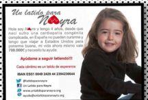 pulsera solidaria Nayra / ayúdanos comprando la pulsera solidaria para que Nayra pueda ser operada.