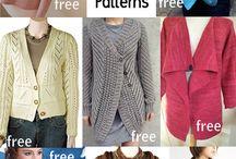 Knitting - adult cardigans