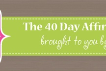 Affirmations | 40 Day Affirmation Journey / Affirm ME!  <-- join me on a 40 day journey of affirmations.  Fall in love with who you ARE!! =)  http://terijohnson.com/affirmme