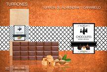 TURRONES / En este tablero encontrarás nuestros turrones únicos, singulares y de sabor intenso. 2 son las variedades que componen esta línea de Turrones. Turrón de lima y pistacho Turrón de almendra y caramelo