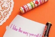 Valentine's Day Treats / Tasty treats to enjoy and share on Valentine's Day!