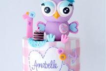 Owl hoot cake