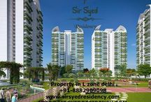 Sir Syed Residency / This housing project can be called as Sir Syed Residency in Dwarka and it consists of residential apartments for 2/3/4 BHK Flats.