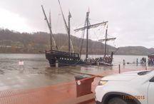 Columbus's sailing ships / Columbus's sailing ships at Ashland, Ky