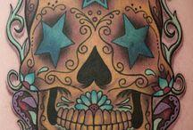 skulls tatoos