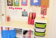 Organization ideas / Organization products, room arrangements, storage solutions.