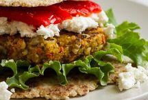 veggie burgers / by Becca Entenberg