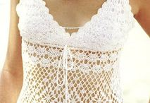 crochet TO WEAR - BLOUSE, TOP AND VEST