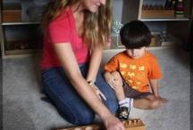 Montessori At Home / Ideas to make bring Montessori methods into your home
