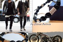 "Style - is in the details!!! / Men's Jewelry. Men's style. Men's bracelets. Men's style ""boho"" Street fashion. Men's Accessories .. Stylish men's things. Gift for men."