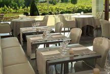 Le Bistrot et son Jardin dans les Vignes / Bistrot chic - La Coquillade - Gargas, Provence