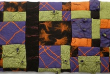 Handfelted panels and wall hangings / Acoustic panels and wall hangings made of handmade felt by GreenART Erica
