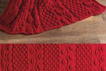 vzory Afgan pletené, háčkované