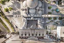 Düzülke / Flatland : Gerçeküstü İstanbul Manzaraları / Sanatçı Aydın Büyüktaş'ın bir drone yardımı ile çektiği fotoğraflar, İstanbul'u bambaşka bir bakış açısıyla tanımanızı sağlıyor..  (Deniz Humması - http://wp.me/p7eZYA-vK)
