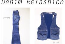 Denim Vests