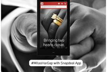 #MitaoHarGap with Snapdeal App / Snapdeal Mobile App - #MitaoHarGap in your relationships. Download the App here: app.snapdeal.com