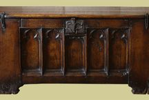 Oak chests, Reproduction / Oak chests, or coffers, would have been made in their thousands, from the 13th, 14th, 15th and 16th century onwards. Many survive from the 17th century, but earlier versions are very rare.   'Authentic' replicas are almost as rare. But Early Oak Reproductions have the expertise and experience to design and make bespoke pieces.