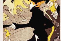 Toulouse-Lautrec / Storia dell'Arte Pittura  Grafica  19° sec. Toulouse-Lautrec, Henri de  1864-1901