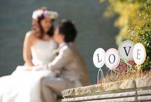 EYM in WEB【wedding】 / こちらでは結婚式のフォトプロップスやケーキトッパー、その他の小物などをご使用していただいた素敵なお写真を商品とともにご紹介しています♪