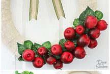 Wreath DIY / wieniec