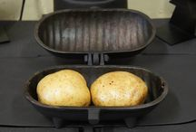 Cast Iron Baked Potato Cooker / Cast Iron Cooker. Wood & Dual Fuel Burners + Open Fires Invite