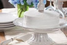 Dishes - Pedestal Cake Stands