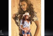 WWE Divas - past & present / by Dann Shelton