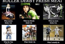 Fresh Meat / Roller derby!! / by Trishell Bates
