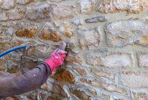 Jointage mur en pierre